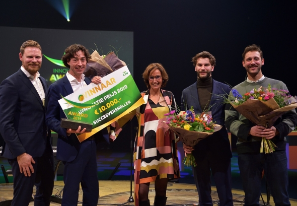 Spacetime Layers wint CSU Innovatie Award 2019